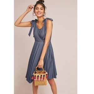 Anthropologie Amara Tied Dress new